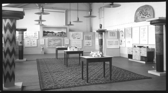 End of year architecture exhibition at the RCA, 1939, Courtesy of RCA archive